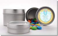 Baby Boy - Custom Baptism / Christening Favor Tins