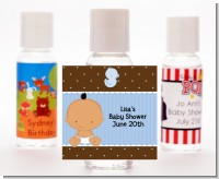Baby Boy Hispanic - Personalized Baby Shower Hand Sanitizers Favors