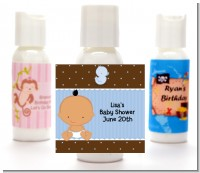 Baby Boy Hispanic - Personalized Baby Shower Lotion Favors