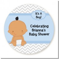 Baby Boy Hispanic - Personalized Baby Shower Table Confetti