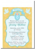Baby Boy - Baptism / Christening Petite Invitations