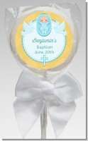 Baby Boy - Personalized Baptism / Christening Lollipop Favors
