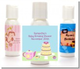 Baby Brewing Tea Party - Personalized Baby Shower Lotion Favors