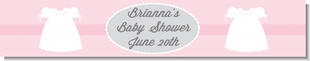 Sweet Little Lady - Personalized Baby Shower Banners