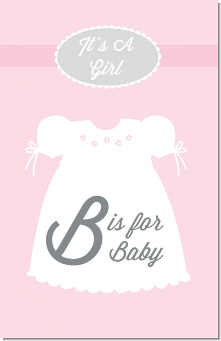 Sweet Little Lady - Personalized Baby Shower Nursery Wall Art