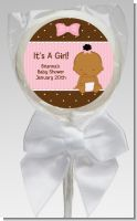 Baby Girl African American - Personalized Baby Shower Lollipop Favors