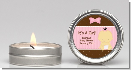 Baby Girl Asian - Baby Shower Candle Favors
