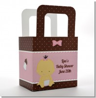 Baby Girl Asian - Personalized Baby Shower Favor Boxes