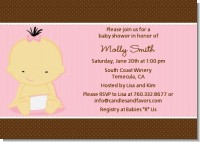 Baby Girl Asian - Baby Shower Invitations