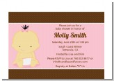 Baby Girl Asian - Baby Shower Petite Invitations