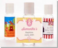Baby Girl - Personalized Baptism / Christening Hand Sanitizers Favors
