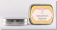 Baby Girl - Personalized Baptism / Christening Mint Tins