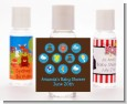 Baby Icons Blue - Personalized Baby Shower Hand Sanitizers Favors thumbnail