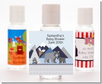 Baby Mountain Trail - Personalized Baby Shower Hand Sanitizers Favors