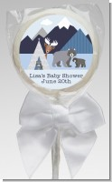 Baby Mountain Trail - Personalized Baby Shower Lollipop Favors