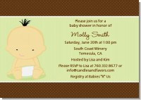 Baby Neutral Asian - Baby Shower Invitations