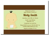 Baby Neutral Asian - Baby Shower Petite Invitations