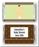 Baby Neutral Asian - Personalized Baby Shower Mini Candy Bar Wrappers