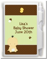 Baby Neutral Asian - Baby Shower Personalized Notebook Favor