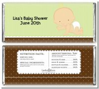 Baby Neutral Caucasian - Personalized Baby Shower Candy Bar Wrappers