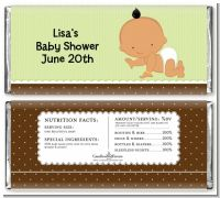 Baby Neutral Hispanic - Personalized Baby Shower Candy Bar Wrappers