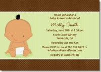 Baby Neutral Hispanic - Baby Shower Invitations