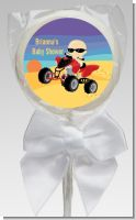 Baby On A Quad - Personalized Baby Shower Lollipop Favors