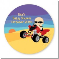 Baby On A Quad - Personalized Baby Shower Table Confetti