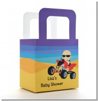 Baby On A Quad - Personalized Baby Shower Favor Boxes