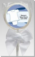 Baby Outfit Camouflage - Personalized Baby Shower Lollipop Favors