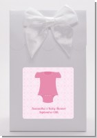Baby Outfit Pink - Baby Shower Goodie Bags