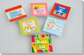 Custom Tags for Baby Shower Favors - Personalized Baby Shower Card Stock Favor Tags