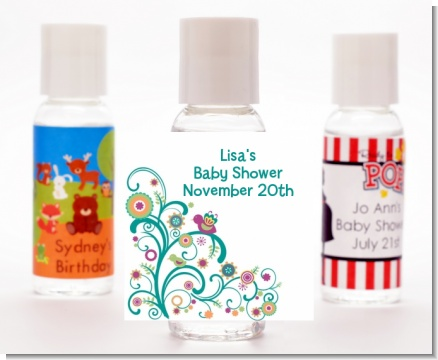 Baby Sprinkle - Personalized Baby Shower Hand Sanitizers Favors