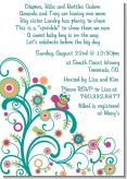 Baby Sprinkle - Baby Shower Invitations