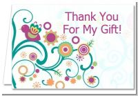 Baby Sprinkle - Baby Shower Thank You Cards