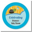 Baby Turtle Blue - Personalized Baby Shower Table Confetti thumbnail