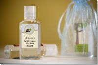 Baby Turtle Neutral - Personalized Baby Shower Hand Sanitizers Favors