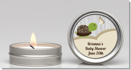 Baby Turtle Neutral - Baby Shower Candle Favors