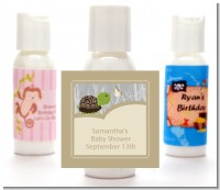 Baby Turtle Neutral - Personalized Baby Shower Lotion Favors