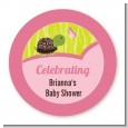 Baby Turtle Pink - Personalized Baby Shower Table Confetti thumbnail