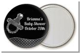 Baby Bling Pacifier - Personalized Baby Shower Pocket Mirror Favors