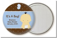 Baby Boy Asian - Personalized Baby Shower Pocket Mirror Favors