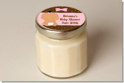 Baby Girl Hispanic - Baby Shower Personalized Candle Jar