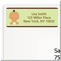 Baby Neutral Hispanic - Baby Shower Return Address Labels