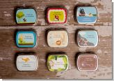 Personalized Mint Candy Tins for Baby Shower Favors