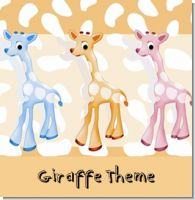 Giraffe Birthday Party Theme