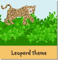 Leopard Birthday Party Theme