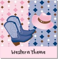 Cowboy  Cowgirl Birthday Party Theme