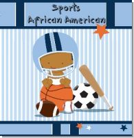 Sports Baby African American Baby Shower Theme