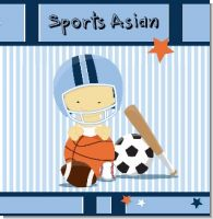Sports Baby Asian Baby Shower Theme